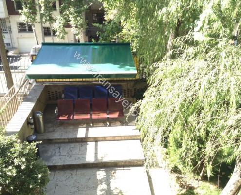 نصب سایبان بازویی سفارت اطريش