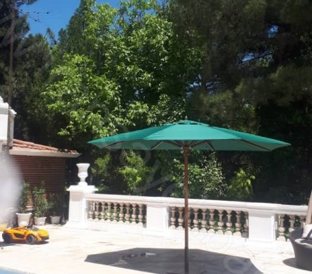 چتر پایه وسط با قطر 4 متر