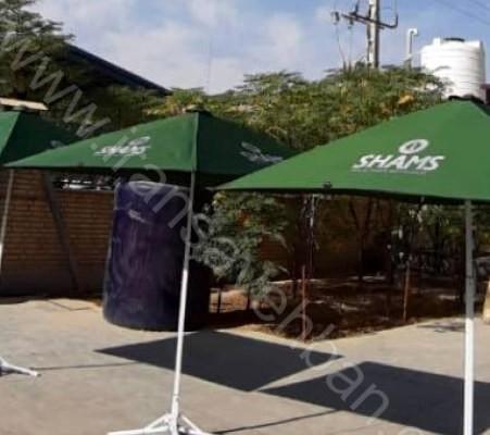 چتر و سایبان تبلیغاتی