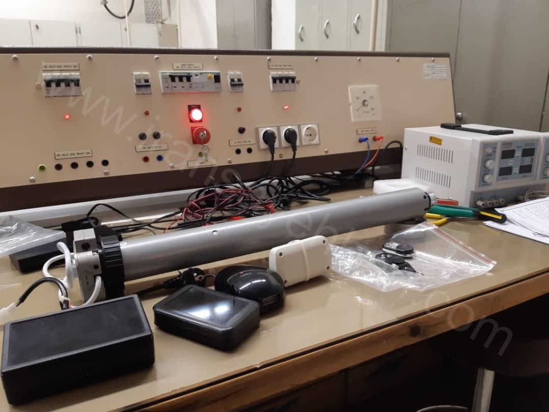 سایبان هوشمند مجهز به سنسور لرزش